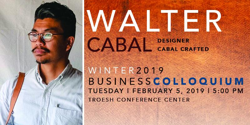 Walter Cabal – TroeshTalks 2019